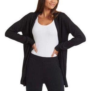 NEW Ella Moss Ladies' Cozy Cardigan BLACK SIZE MED